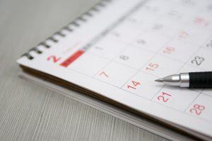 schedule calendar image